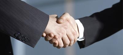提携企業との打合せ